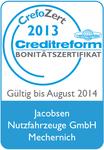 Jacobsen Nutzfahrzeuge ist von der Creditreform zertifiziert