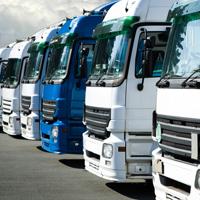 Flotte der Vermietfahrzeuge