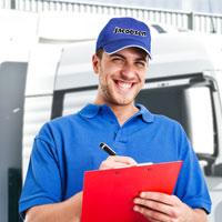Mitarbeiter der Jacobsen Autotransportervermietung